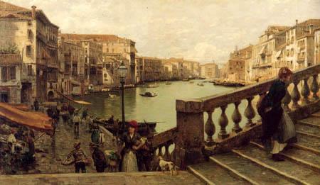 Guglielmo Ciardi Painter Guglielmo Ciardi