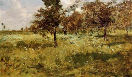 Guglielmo Ciardi - Wiesenlandschaft