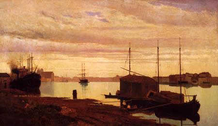 Guglielmo Ciardi - Canal della Giudecca, Venice