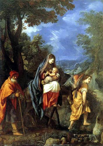 Ludovico Cardi da Cigoli - The Flight into Egypt
