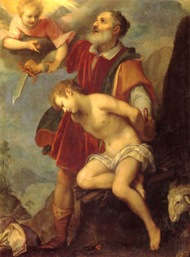 Ludovico Cardi da Cigoli - Le sacrifice d'Isaac