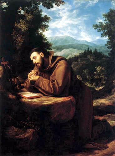 Ludovico Cardi da Cigoli - Saint-François