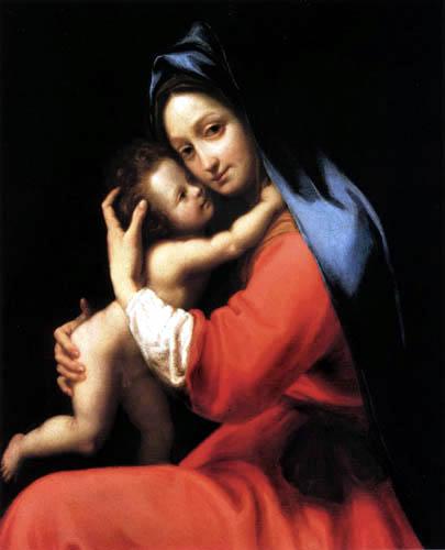 Ludovico Cardi da Cigoli - Marie avec l'enfant
