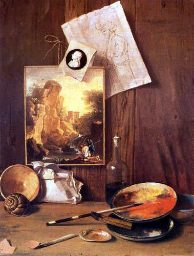 Antonio Cioci - Still life in the artist´s studio