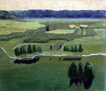 Mikalojus Konstantinas Ciurlionis (Čiurlionis) - Raigardas-Tal 2, Litauen