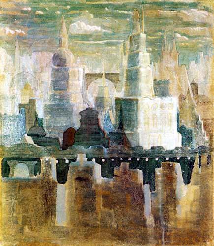 Mikalojus Konstantinas Ciurlionis (Čiurlionis) - Stadt 1