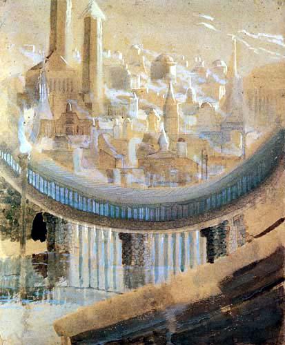 Mikalojus Konstantinas Ciurlionis (Čiurlionis) - Stadt 2