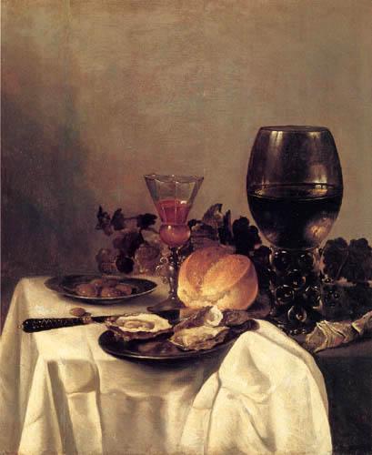 Pieter Claesz - Stillleben mit Weinkelch
