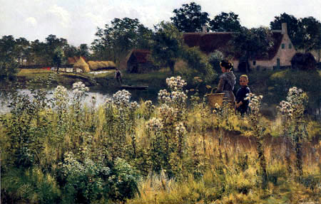 Emile Claus - The Lys in Astene