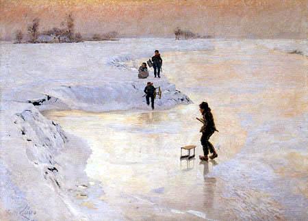 Emile Claus - Kingfishers