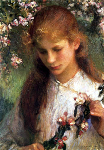 Sir George Clausen - Apfelblüte