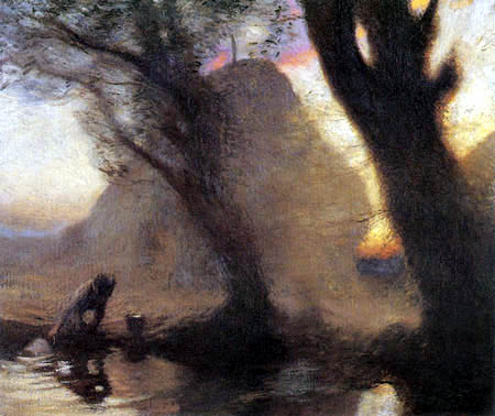Sir George Clausen - Crépuscule