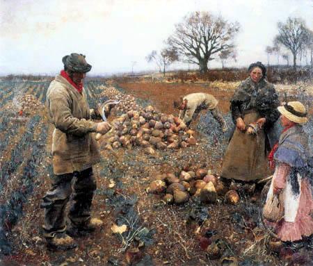 Sir George Clausen - Trabajos de invierno