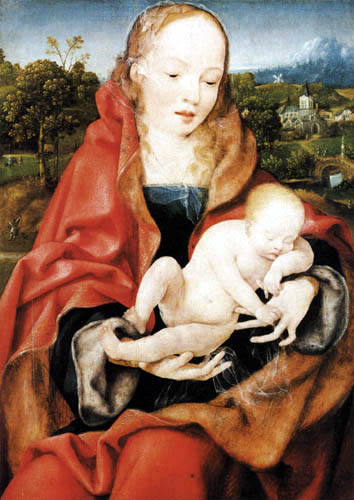 Joos van Cleve - Maria with the Jesus child