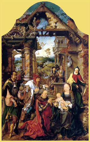 Joos van Cleve - The Adoration of the Magi