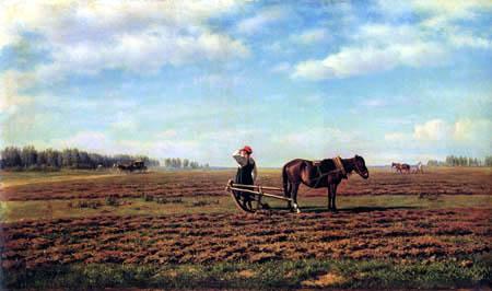 Michail Clodt (Clodt von Jürgensburg) - On the field