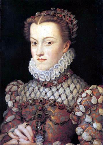Jean Clouet - Elisabeth von Österreich, Königin von Frankreich