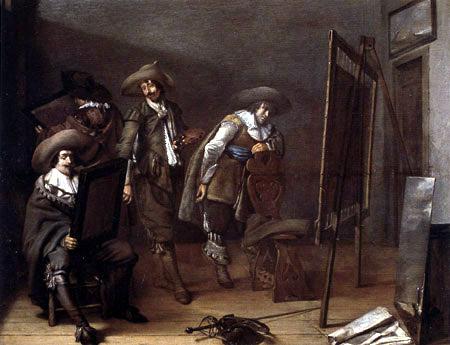 Pieter Jacobsz. Codde - Art lovers to visit in the Atelier