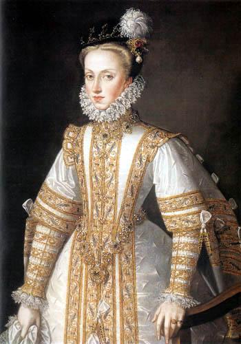 Alonso Sánchez Coello - Anne of Austria