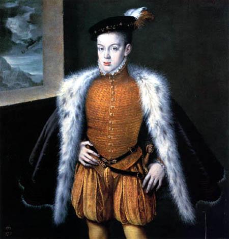 Alonso Sánchez Coello - Portrait of the Infante Don Carlos