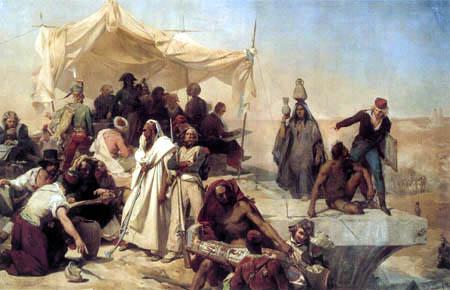 Léon Cogniet - The Egyptian campaign under the command of Bonaparte