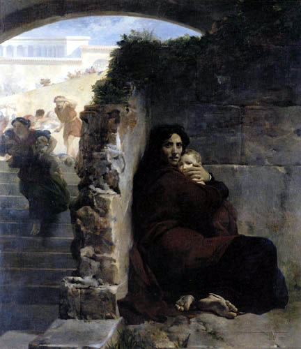 Léon Cogniet - The Massacre of the Innocents in Bethlehem