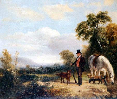 George Cole - Porträt des Generals Yates