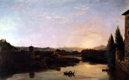 Thomas Cole - Blick auf den Arno