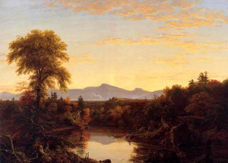Thomas Cole - Catskill Creek, New York