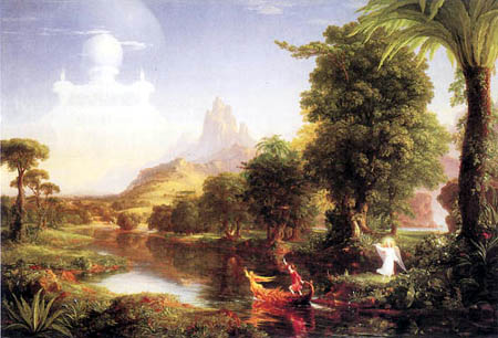 Thomas Cole - The Journey of Life, The Youth