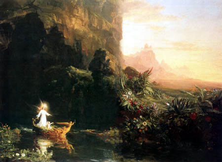 Thomas Cole - The Journey of Life, The Childhood