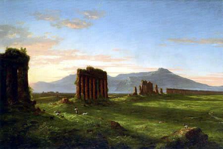 Thomas Cole - La campiña romana