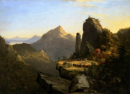 Thomas Cole - Scene from