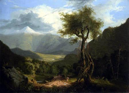 Thomas Cole - View in the White Mountains