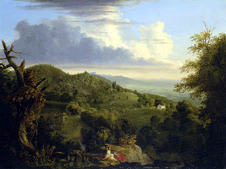 Thomas Cole - View of Monte Video, the Seat of Daniel Wadsworth