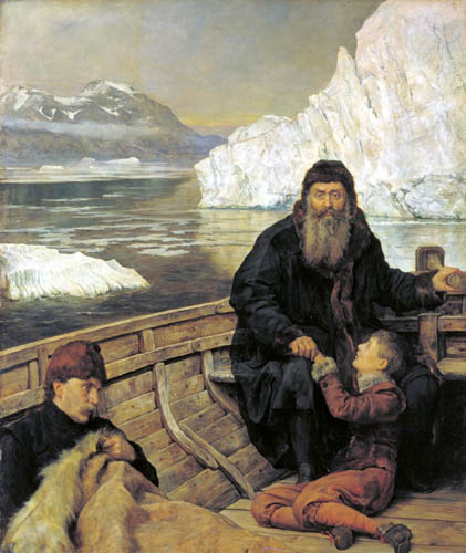 John Collier - The Last Voyage of Henry Hudson