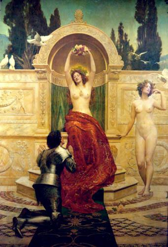 John Collier - Venusberg, Scene from Tannhaeuser