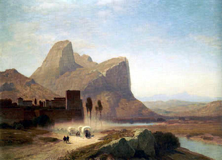 Samuel Colman - Gibraltar from the neutral Ground