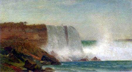 Samuel Colman - Die Niagara-Fälle