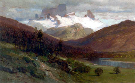 Samuel Colman - View of British Columbia
