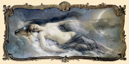 Léon François Comerre - Luna