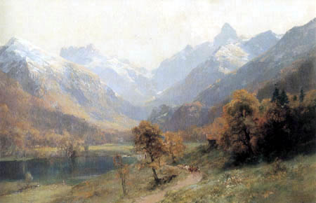 Edward Theodor Compton - Christlsee bei Oberstdorf