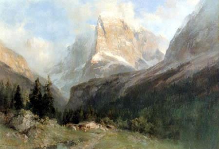 Edward Theodor Compton - Die Brentagruppe in den Dolomiten