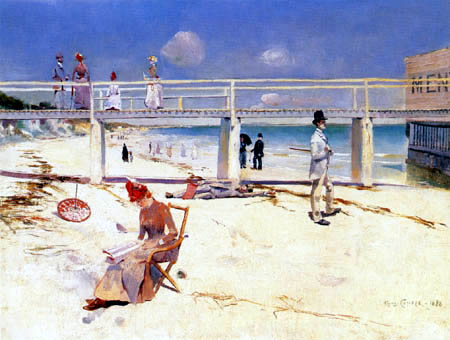 Charles Conder - Holiday in Mentone