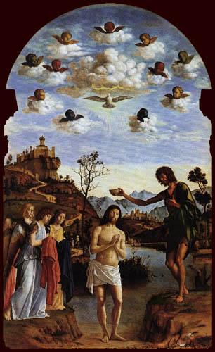 Giovanni Battista Cima - Le Baptême du Christ