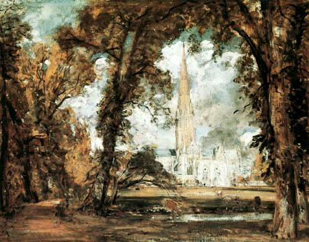John Constable - Salisbury Kathedrale