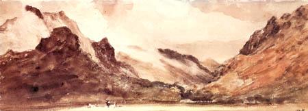 John Constable - Ansicht von Borrowdale
