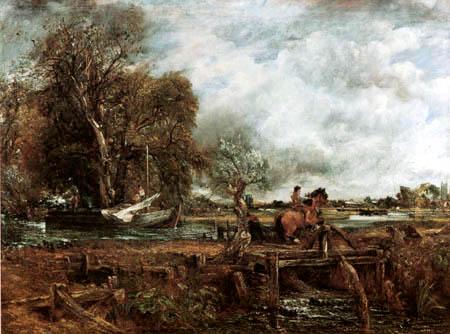 John Constable - Das springende Pferd