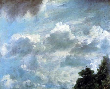 John Constable - Wolken über Hampstead