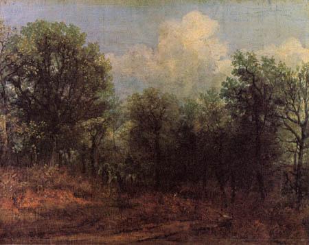 John Constable - Waldlandschaft